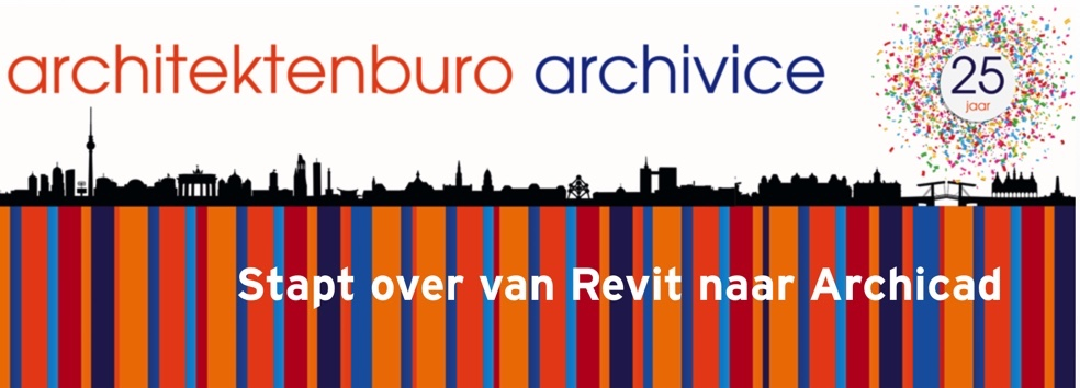 Van Revit naar Archicad, Archivice stapt over